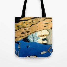 Water Painting Tote Bag