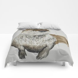 Ryer the Otter Comforters