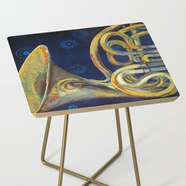 French Horn Side Table