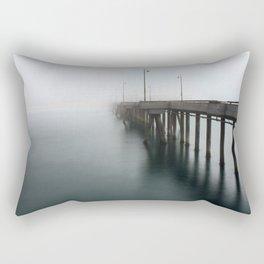 Venice Beach Pier Rectangular Pillow