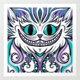 Chesire Smile Art Print