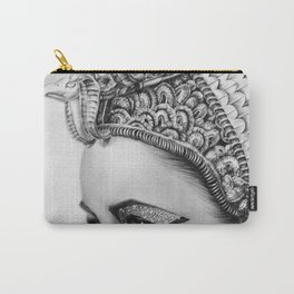 Elizabeth Taylor Cleopatra Portrait Carry-All Pouch