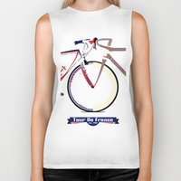 tour de france Biker Tanks featuring Tour De France by Wyatt Design