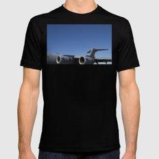 C17 C-17 Globemaster Military Cargo Airplane/Aircraft USAF Mens Fitted Tee Black MEDIUM