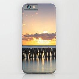 Mouth of the Tyne Sunrise iPhone Case
