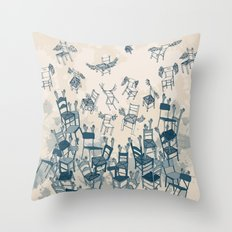 Armchairs and Wingchairs Throw Pillow