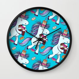 The Intern (Teal) Wall Clock