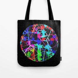Disco Ball Night Tote Bag