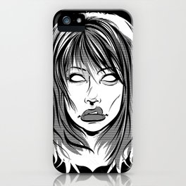 Right Through You iPhone Case