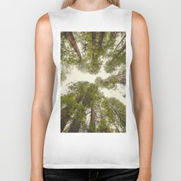 Into the Mist - Nature Photography Biker Tank