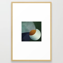 Birth of an Orange Framed Art Print