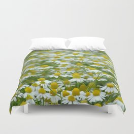 Chamomile Meadow Duvet Cover