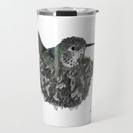 Rufous Hummingbird - Selasphorus rufus Travel Mug