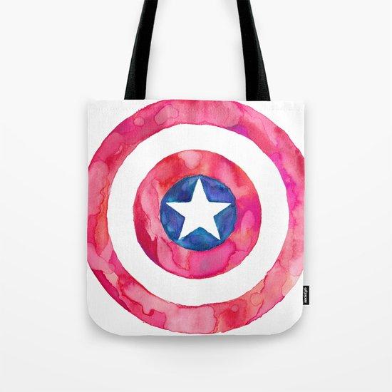Captain America Shield Tote Bag