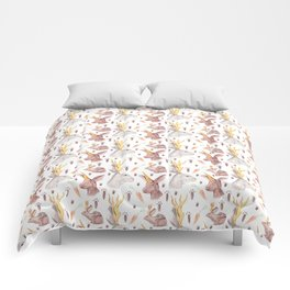 Mythical Rabbits Comforters