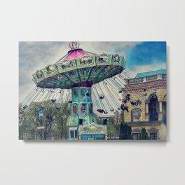 Vienna life #vienna #carousel Metal Print