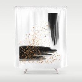 Strokes & Flicks Shower Curtain