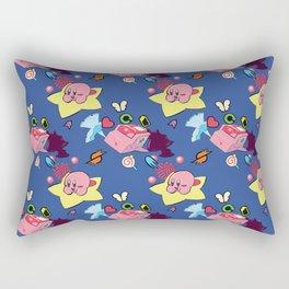 Achievement Unlocked: Kirby Air Ride Rectangular Pillow