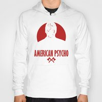 american psycho Hoodies featuring American Psycho by Buby87
