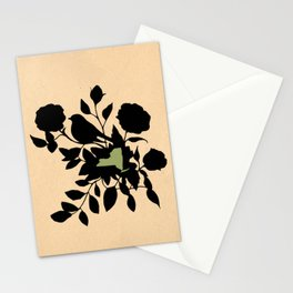 New York - State Papercut Print Stationery Cards