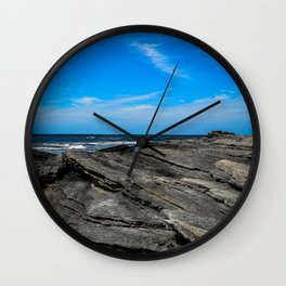 On The Rocks Wall Clock