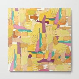 color hands Metal Print