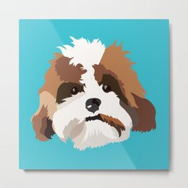 Sir Finley Metal Print