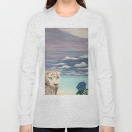 Un regard perçant d'amour Long Sleeve T-shirt