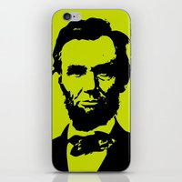 lincoln iPhone & iPod Skins featuring Lincoln by Liam Schultz