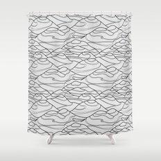 Serpentines Shower Curtain