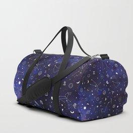 Space pattern Duffle Bag