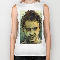 movie Biker Tanks featuring Schizo - Edward Norton by Fresh Doodle - JP Valderrama
