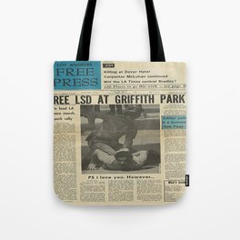 Free LSD in Griffith Park Tote Bag