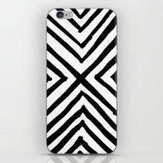 Angled Stripes iPhone Skin