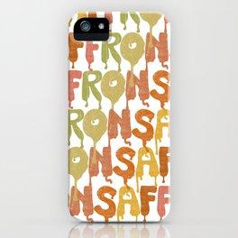 Saffron iPhone Case