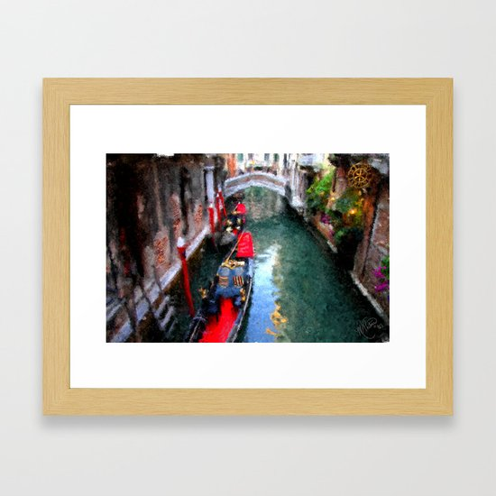 Venitian Canal by marywhitmer