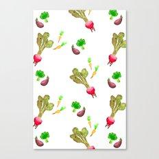 Veggie Fun Canvas Print