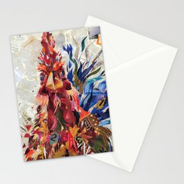 Righteous rooster Stationery Cards