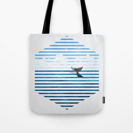 Whale you dive with me? Tote Bag