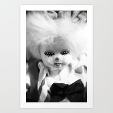Dolls in Grandma's attic, Photo Art Print