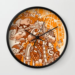 Ginger Monsterous Wall Clock