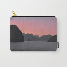 Halong Bay Sunset Carry-All Pouch