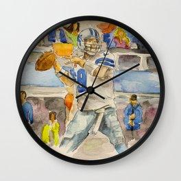 Tony Romo - Retired Pro Football Player Wall Clock