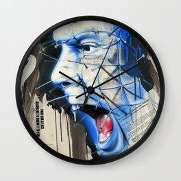 Pinhead: Ransom Note Horror Series Wall Clock