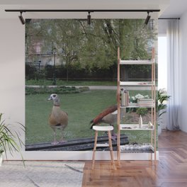 Nature and landscape 7 with ducks Wall Mural