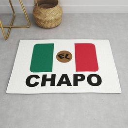 El Chapo Mexican flag Rug