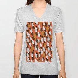 autumn pattern Unisex V-Neck