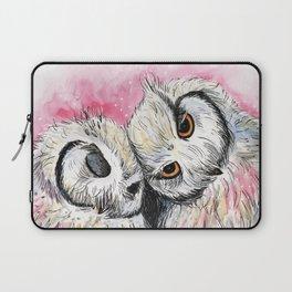 owl snuggles Laptop Sleeve