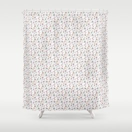 Cute Dungeons and Dragons Pattern Shower Curtain