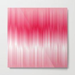 Dip Dye: Raspberry Creamsicle Metal Print